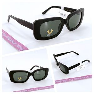 TRUE RELIGION Unisex Sunglasses Black